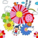 Цветок детей Стоковые Фото