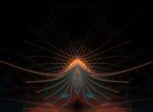Цветок звезды абстрактный Стоковое фото RF