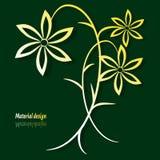 Цветок золота Стоковое фото RF
