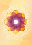 Цветок. Иллюстрация вектора Стоковые Изображения