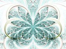 Цветок или бабочка фрактали Стоковые Изображения RF