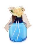 Цветок и синие стекла Стоковое Фото