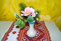 Цветок и хворостины сосны Стоковые Фото