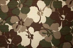 цветок камуфлирования Стоковое Фото