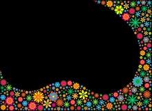 цветок карточки Стоковое Фото
