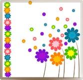 цветок конструкции предпосылки Стоковое Изображение RF
