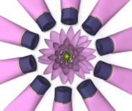 цветок косметик Стоковое фото RF