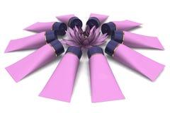 цветок косметик Стоковая Фотография RF