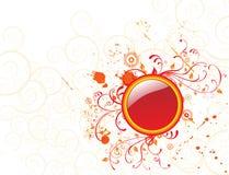 цветок круга предпосылки Стоковое Изображение