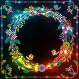 Цветок круга бесплатная иллюстрация
