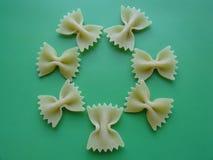 Цветок макаронных изделий Стоковые Фото