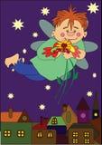 цветок мальчика Стоковые Фотографии RF