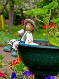 цветок мальчика Стоковые Фото
