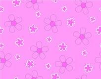 Цветок на розовой предпосылке Иллюстрация штока