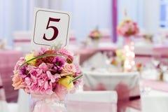 Цветок на таблице Стоковая Фотография