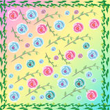 Цветок обоев Стоковые Изображения RF