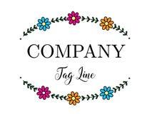 Цветок логотипа Стоковое Фото