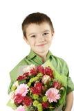 цветок одно мальчика букета Стоковое Изображение