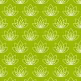 Цветок лотоса как символ йоги Стоковые Фотографии RF