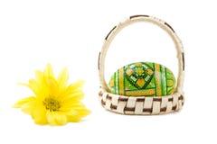 цветок пасхального яйца Стоковая Фотография