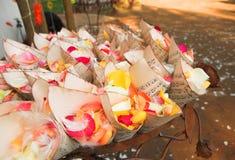 цветок пера confetti Стоковое Изображение RF