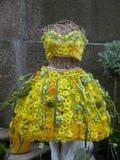 цветок платья Стоковое Фото