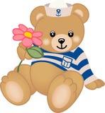 цветок предлагает игрушечный матроса Стоковые Изображения