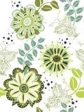 цветок предпосылки безшовный Стоковая Фотография