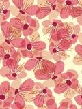 цветок предпосылки безшовный Стоковые Фото
