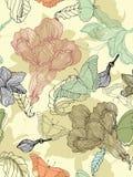 цветок предпосылки безшовный Стоковые Изображения RF