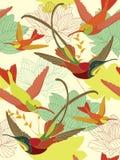цветок предпосылки безшовный Стоковые Изображения