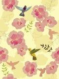 цветок предпосылки безшовный Стоковое Фото
