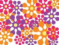 цветок предпосылки ретро Стоковая Фотография RF