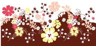 цветок предпосылки флористический Стоковая Фотография