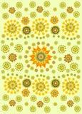 цветок предпосылки этнический Стоковая Фотография