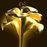 цветок предпосылки 3d Стоковые Изображения