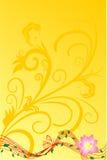 цветок предпосылки Стоковые Изображения RF
