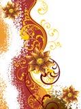 цветок предпосылки иллюстрация штока