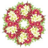 цветок предпосылки свежий Стоковое Изображение RF