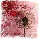 цветок произведения искысства handpainted Стоковая Фотография RF