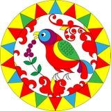 цветок птицы иллюстрация вектора