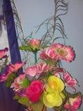 Цветок пластмассы Стоковые Фото