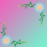 Цветок рамки Стоковое Изображение RF