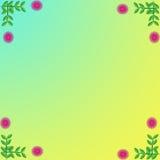 Цветок рамки Стоковые Изображения RF