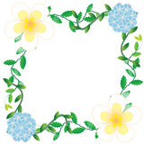 Цветок рамки Стоковые Фото