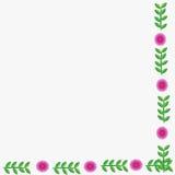 Цветок рамки Стоковая Фотография