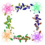 Цветок рамки Стоковая Фотография RF