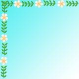Цветок рамки Стоковое фото RF