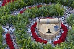 цветок расположения декоративный Стоковое Изображение