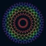 Цветок радуги жизни Стоковая Фотография RF